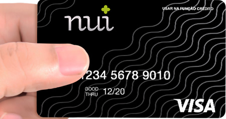 Nui Visa - Cartão pré pago