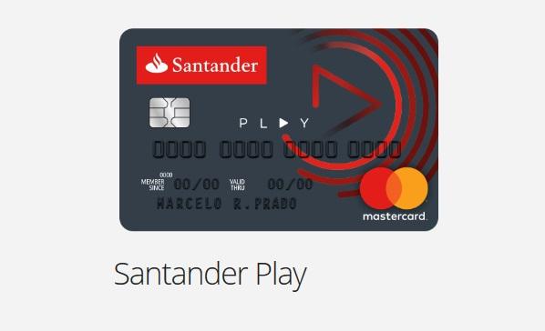Solicitar cartão de crédito Santander Play