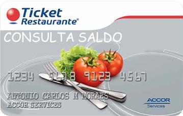 Consulta saldo - Ticket Alimentação