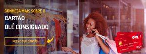 Solicitar cartão de crédito Olé Consignado