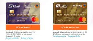 Solicitar cartão de crédito Netshoes