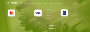 Solicitar cartão de crédito Sicoob
