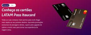 Solicitar cartão de crédito Latam