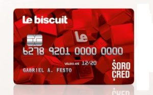 Solicitar cartão de crédito Le Biscuit
