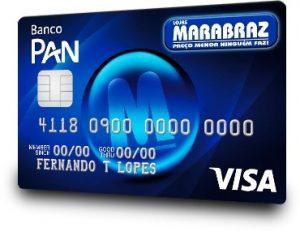 Solicitar cartão de crédito das Lojas Marabraz